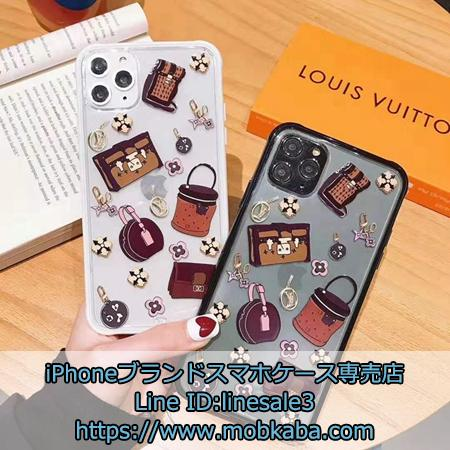 Louis Vuitton バッグプリントソフトスマホケース