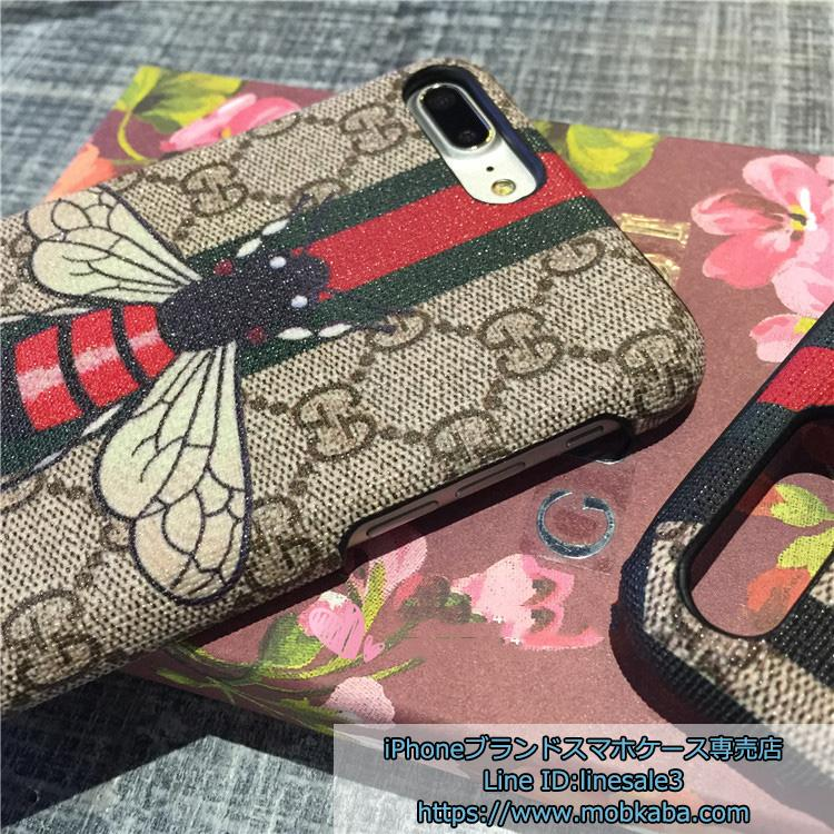 gucci iphone7s カバー ハチ